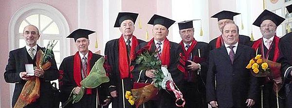 Akademische Ehrung im Rahmen der 175-Jahrfeier der Nationalen Taras-Schewtschenko-Universität Kiew, 2009, Foto: Helmut Hengstler©, mit freundlicher Genehmigung.