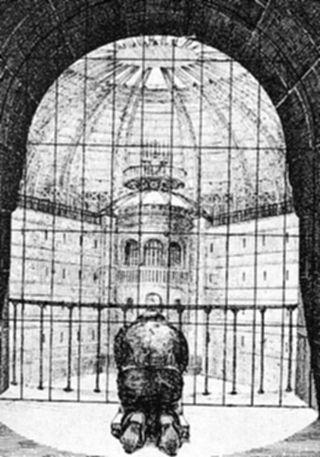 Plan für eine Strafanstalt, 1840, N. Harou-Romain