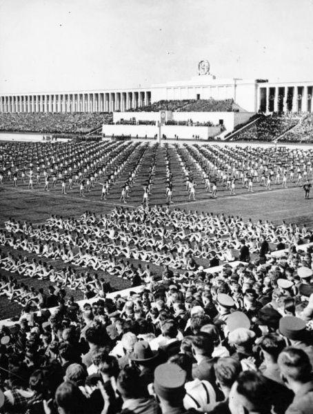 Reichsparteitag in Nürnberg. Am 8.9.1938, dem