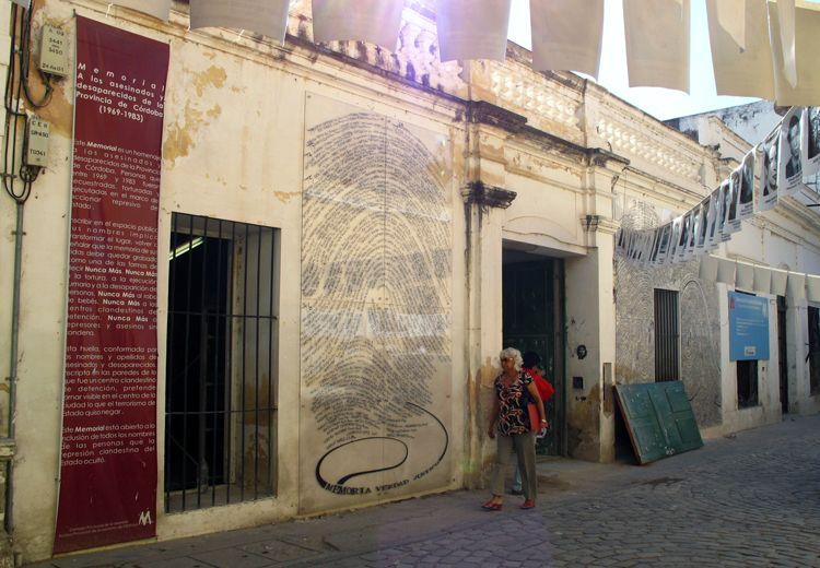 Gedenkstätte für die Ermordeten und Verschwunden in der Provinz Córdoba (Argentinien) 1969-1983. Foto: ©Anne K. Krüger, mit freundlicher Genehmigung.