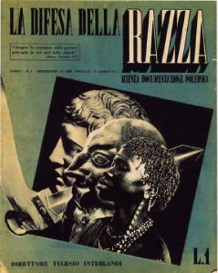 The racism and antisemitism of Italian fascists was autochthonous. The magazine ''La difesa della razza'', first published in 1938, aimed to enhance Italians'