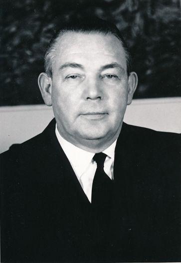 BDI-Präsident Fritz Berg (Foto von 1955) (Wikimedia Commons, Publicon, Fritz Berg (1949-1971), CC BY-SA 4.0)