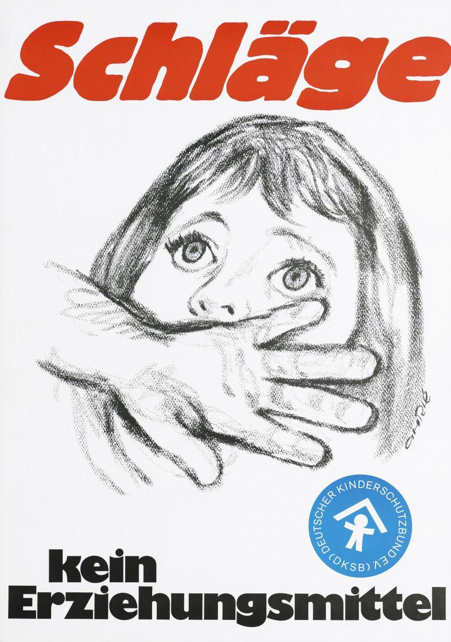 Plakat des Deutschen Kinderschutzbundes, 1970er-Jahre (Bundesarchiv, B 426 Plak-004)