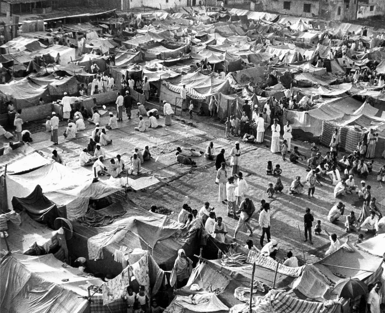 Das Geneva Camp in Dhaka, 1972(picture alliance/dpa/UPI)