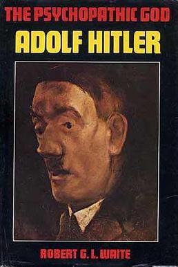 Eine besondere Rolle für die psychologisch und psychoanalytisch orientierte historische Biografik spielt Adolf Hitler. Entsprechende Psychogramme, die den Diktator zu entschlüsseln suchten, wurden bereits während des Zweiten Weltkriegs erstellt. Cover: Robert G. L. Waite, The Psychopathic God Adolf Hitler, Da Capo Press New York 1977, Quelle: [https://en.wikipedia.org/wiki/File:The_Psychopathic_God.jpg Wikimedia Commons]