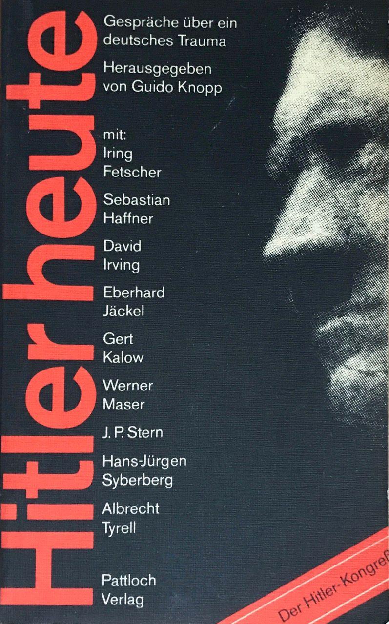 »Der Hitler-Kongreß«: Cover des Tagungsbandes »Hitler heute« (1979)